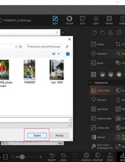 wybierz folder