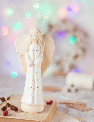 Aniołek bokeh