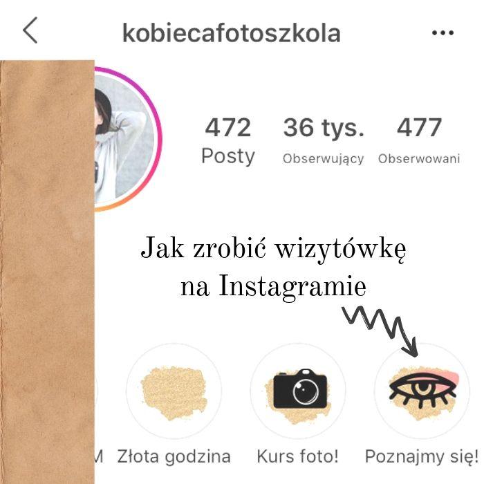 wyróżnione relacje na instagramie